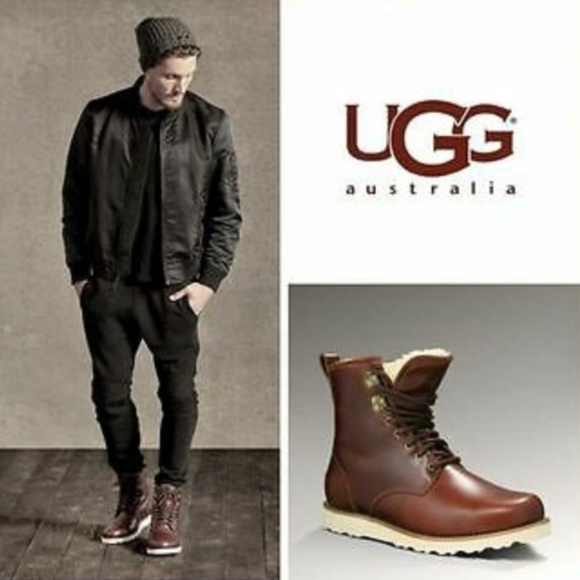 40964dd182f UGG Men's Hannen Boot Cordovan Size 9 Waterproof